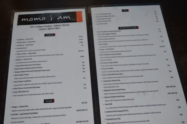 The menu (and address if you notice ;)