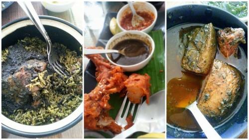 Jadoh, Pork ribs, Dohnieng @ Rosang