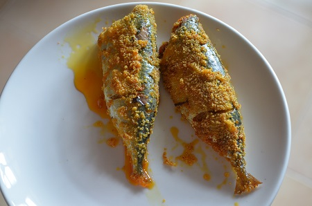 Rawa fried mackerels