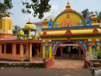And colourful temples alike