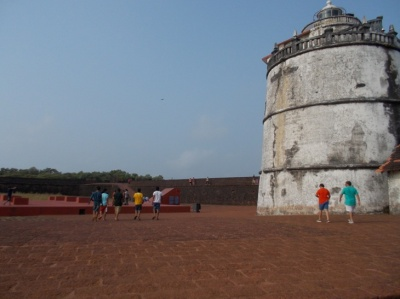 The lighthouse at Aguada