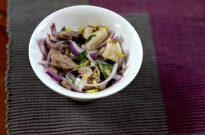 Fusion Pork Salad