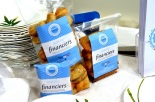 Packaged mini financiers