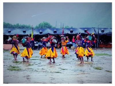 Glimpses of the Haa Festival - Lion dance