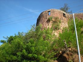 The majestic Ratnadurg fort